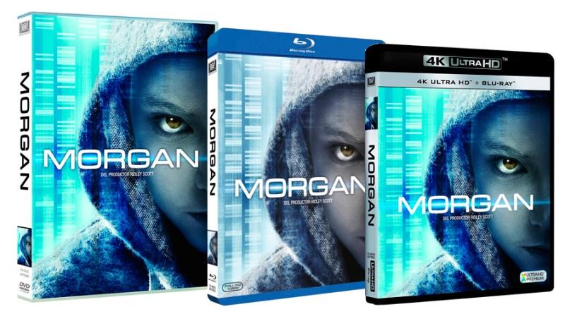 'Morgan': Ya a la venta en DVD, Blu-ray y UHD Blu-ray