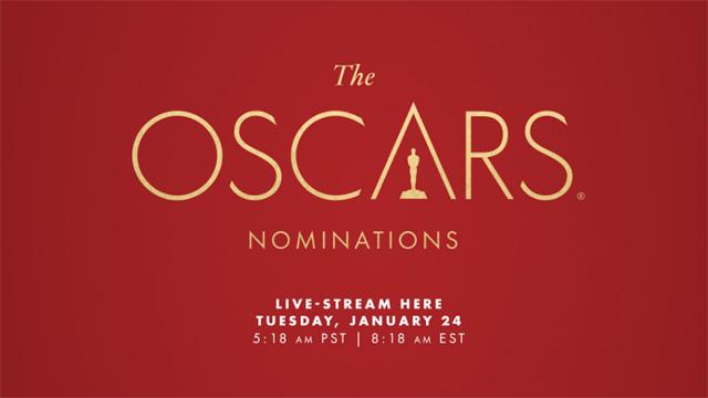 Sigue en directo las nominaciones a los Oscars