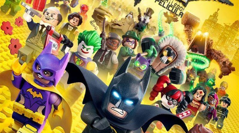 """Pósters de la película """"Lego Batman: La película"""""""
