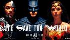 La liga de la justicia Comic Con banner