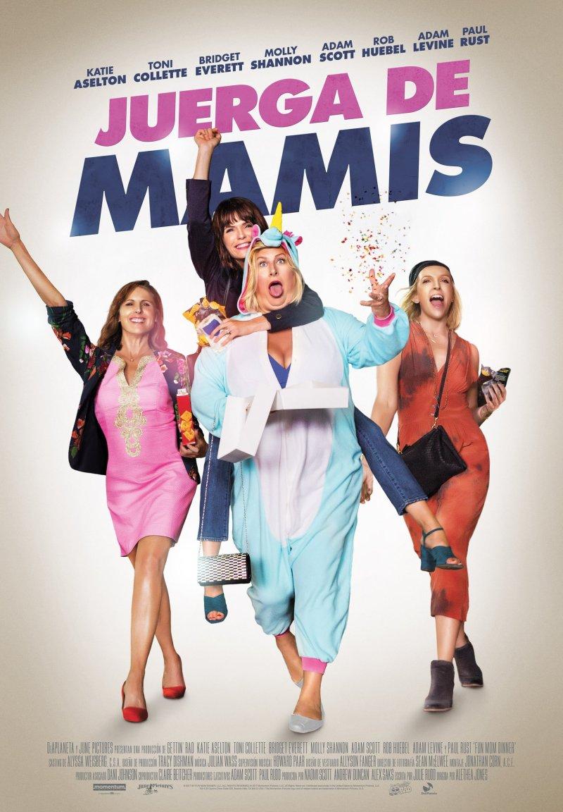 Poster de juerga de mamis