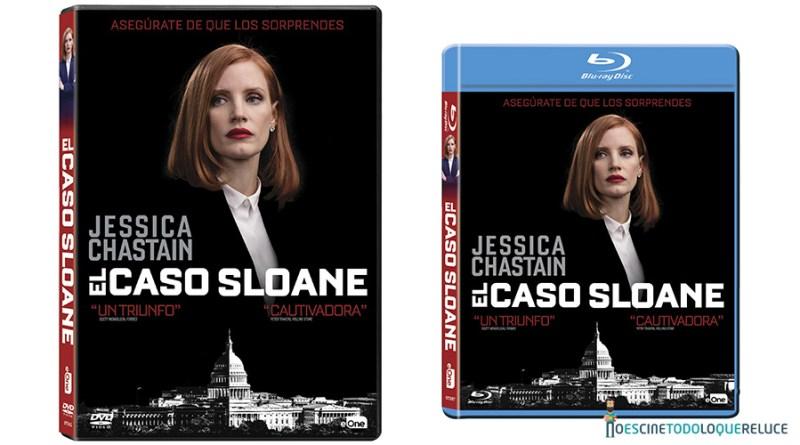 'El caso Sloane': Ya a la venta en DVD y Blu-ray