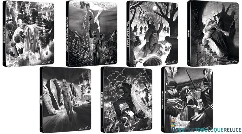 """""""Los Monstruos Clásicos de Universal"""" a la venta desde hoy en nuevos steelbooks en Blu-ray"""