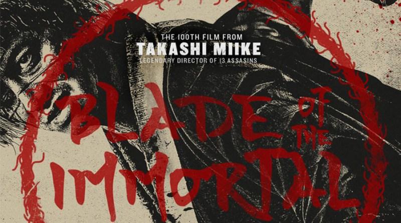 'Blade of the Inmortal': Nuevo póster de la adaptación de Takashi Miike