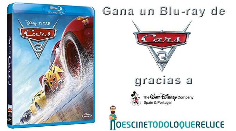 Sorteo 'Cars 3': Tenemos para vosotros Blu-rays de la película