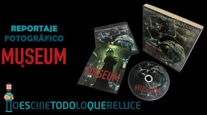 'Museum': Reportaje fotográfico y análisis de la edición Blu-ray