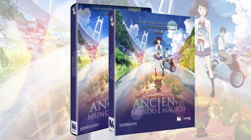 'Ancien y el Mundo Mágico': Ya a al venta en DVD y Blu-ray de la mano de Mediatres Estudio