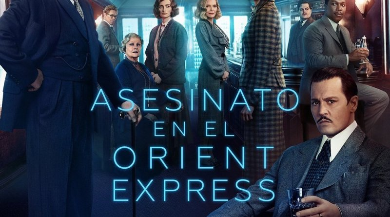 """Pósters de la película """"Asesinato en el Orient Express"""""""