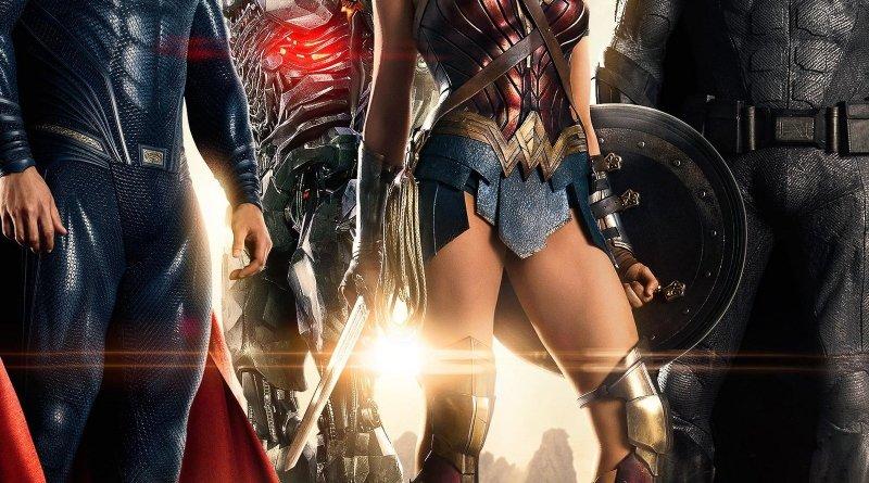 "Pósters de la película ""Liga de la Justicia"""