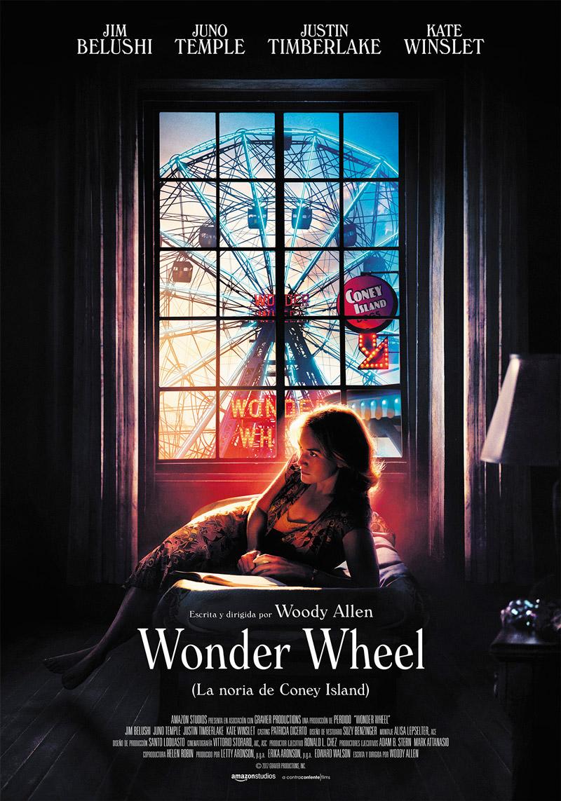 'Wonder Wheel': Póster español de la película escrita y dirigida por Woody Allen
