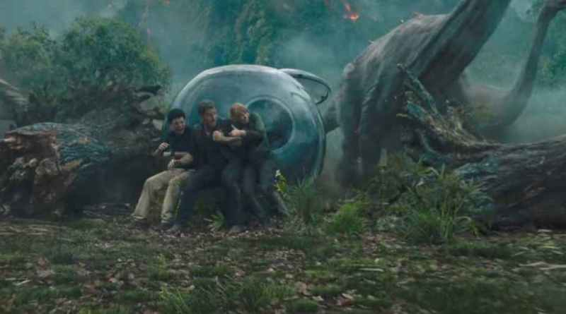 'Jurassic World: el reino caído': Otro avance del tráiler que verá la luz el jueves