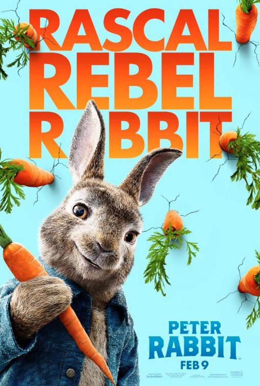 'Peter Rabbit': Nuevo póster de la primera adaptación del clásico inglés