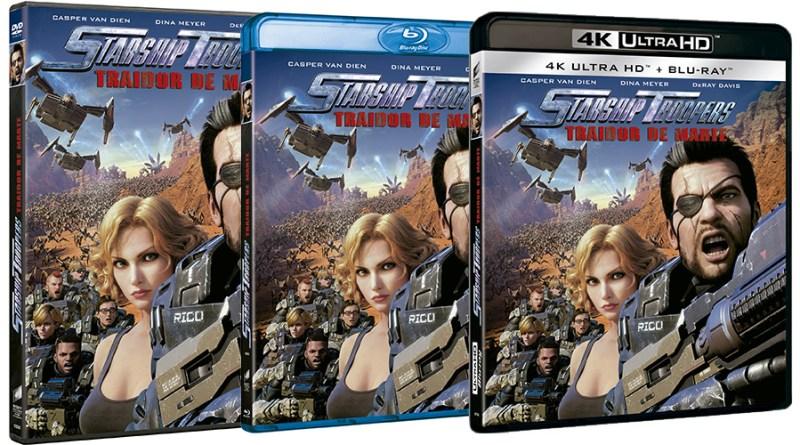 'Starship Troopers: Traidor de Marte': Ya a la venta en DVD, Blu-ray y 4K UHD