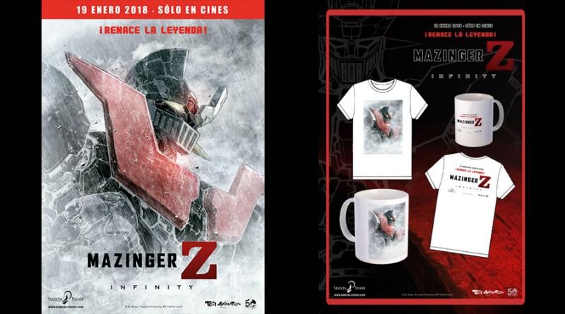 Sorteo 'Mazinger Z Infinity': Tenemos tazas y camisetas de la película