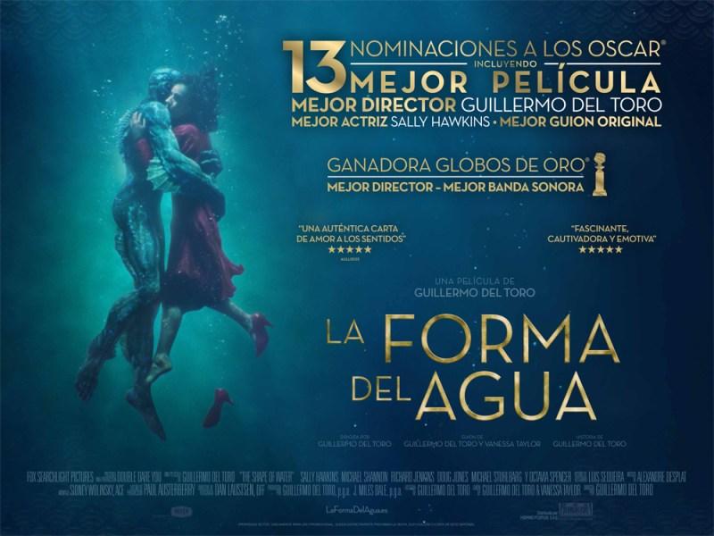 Sorteo 'La forma del agua': Tenemos novelas de la película para vosotros