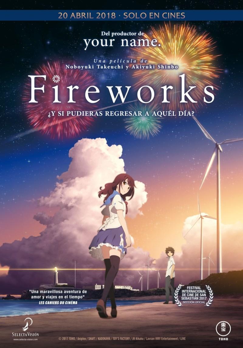 'Fireworks': En abril se estrenará lo nuevo del productor de 'Your name'