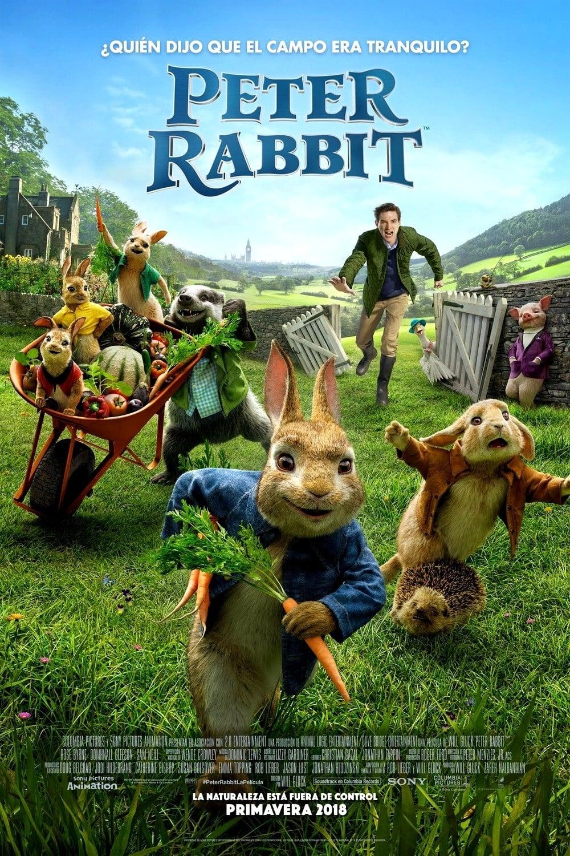 """Pósters de la película """"Peter Rabbit"""""""