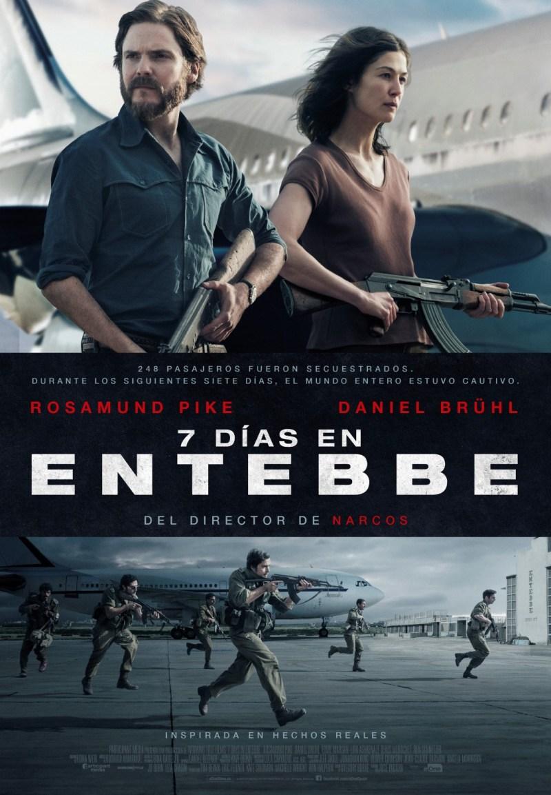 '7 Días en Entebbe': Póster final español de la película de José Padilla