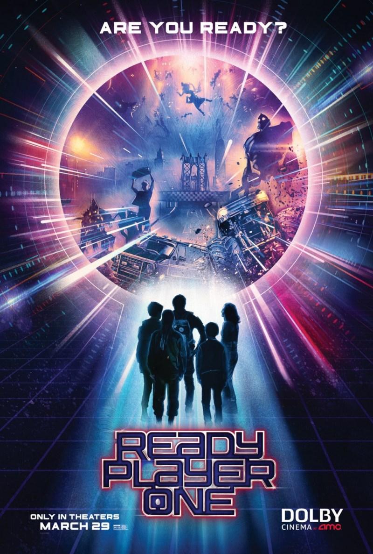 'Ready Player One': Nuevo póster para promocionar estreno en salas Dolby AMC