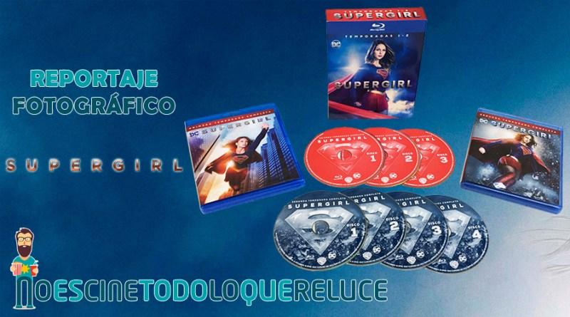 'Supergirl - Temporadas 1 y 2': Reportaje fotográfico y análisis de la edición Blu-ray
