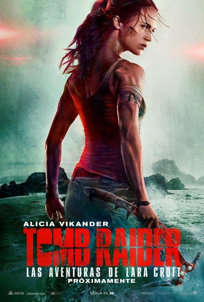 """Pósters de la película """"Tomb Raider"""""""