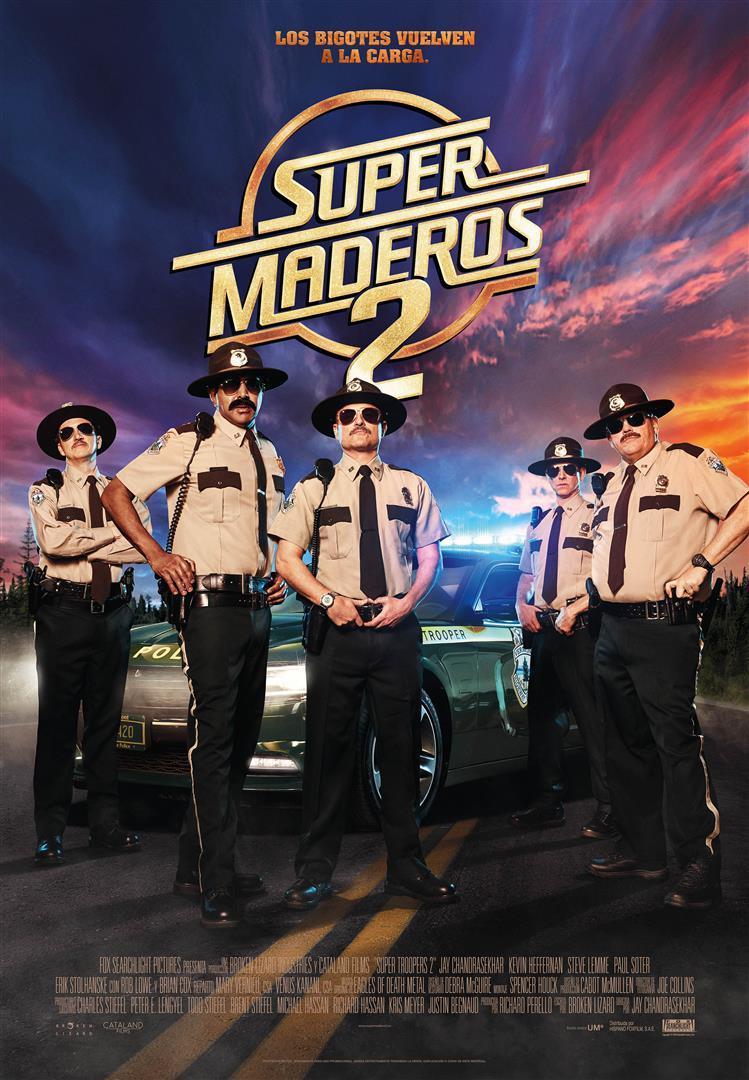'Super Maderos 2': Póster y tráiler del regreso de la unidad de ley y orden