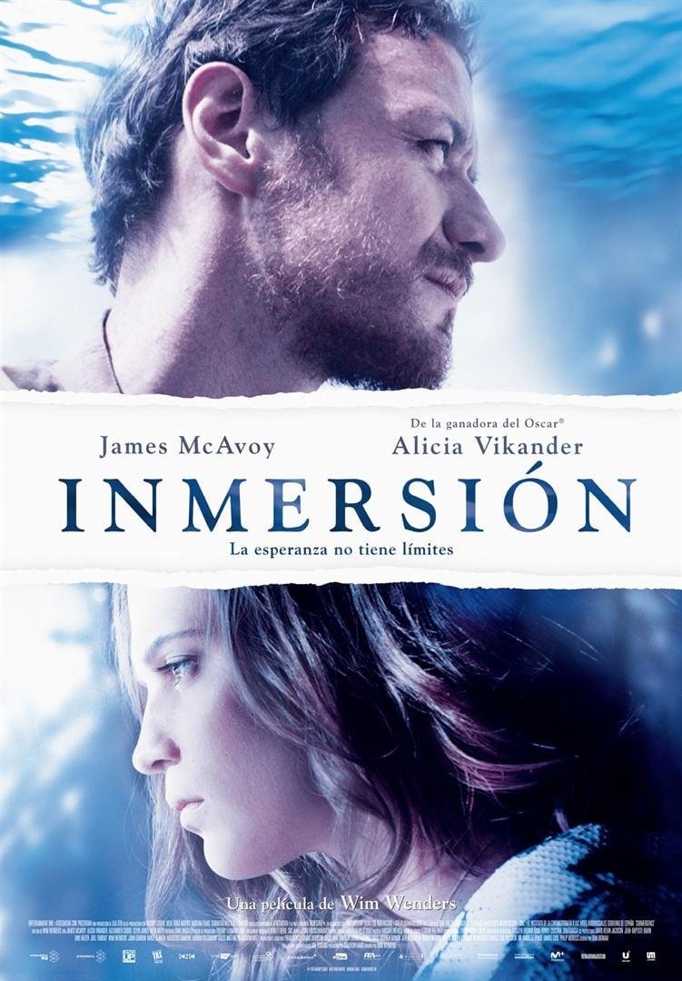"""Pósters de la película """"Inmersión"""""""