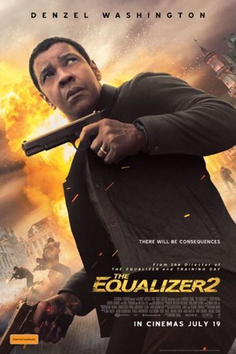 'The Equalizer 2': Nuevo póster del regreso de Denzel Washington como Robert McCall