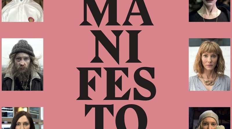 """Pósters de la película """"Manifesto"""""""