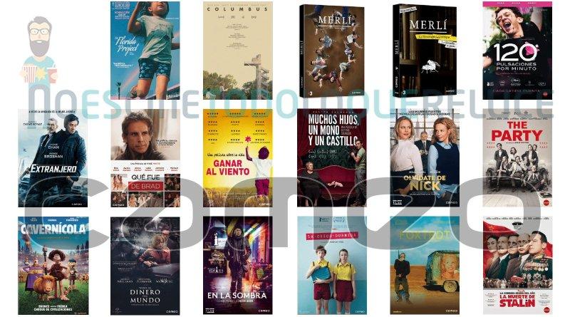 Lanzamientos de junio en DVD y Blu-ray de Cameo