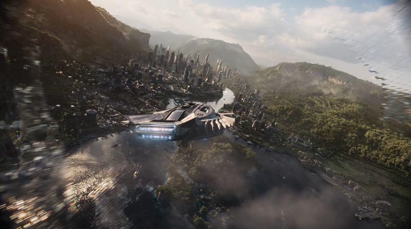 "'Black Panther': Clip exclusivo ""Wakanda's Tech"""