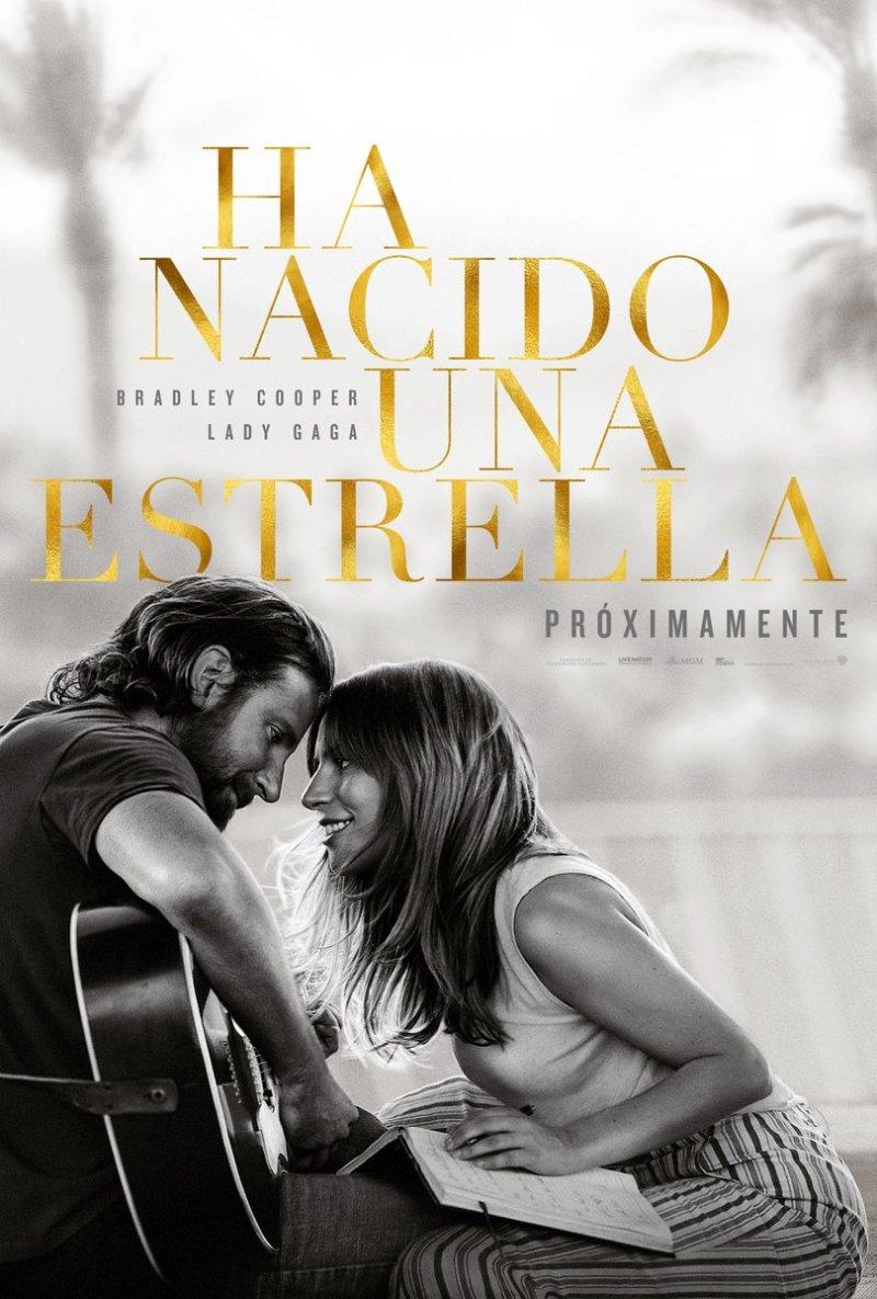 'Ha nacido una estrella': Tráiler y póster oficial español