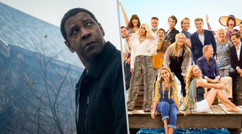 Taquilla USA: Pelea reñida por el primer puesto entre 'The Equalizer 2' y 'Mamma Mia! Una y otra vez'