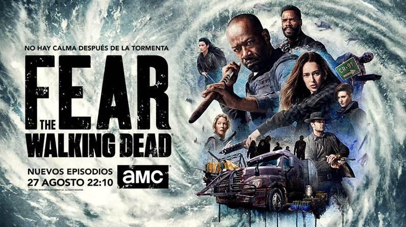 'Fear the Walking Dead': Tráiler de la Comic-Con de los nuevos episodios de la cuarta temporada