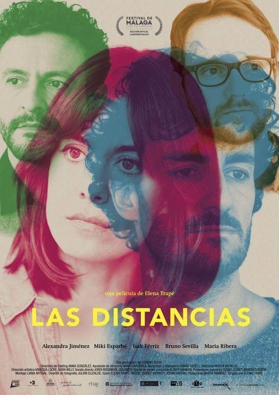 """Pósters de la película """"Las distancias"""""""
