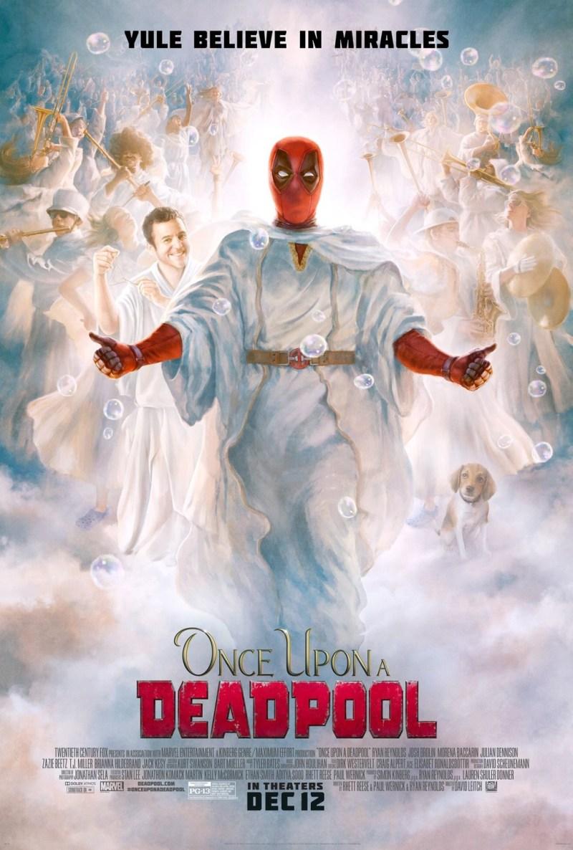 "'Once Upon a Deadpool': Nuevo póster ""Bíblico"""