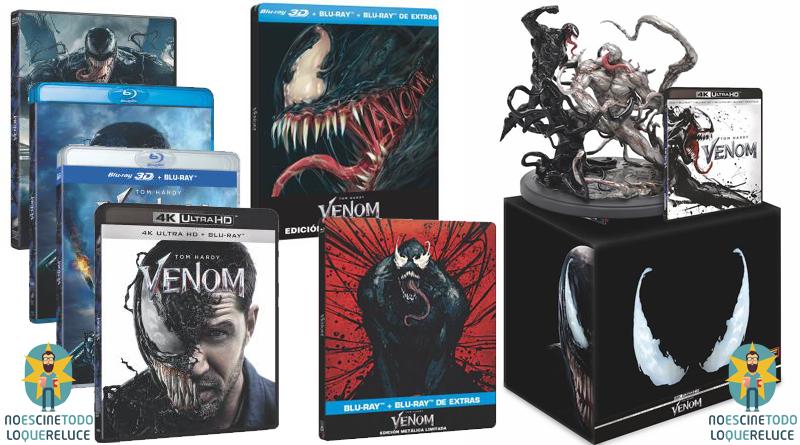 'Venom': Ya a la venta en 7 ediciones distintas, incluidas 2 ediciones metálicas y una coleccionista