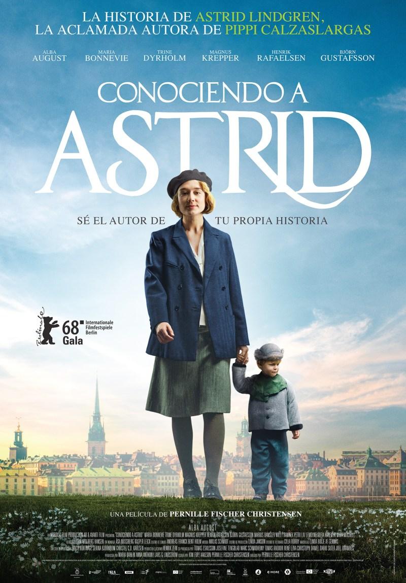 'Conociendo a Astrid': Póster español de la apasionante historia de Astrid Lindgren