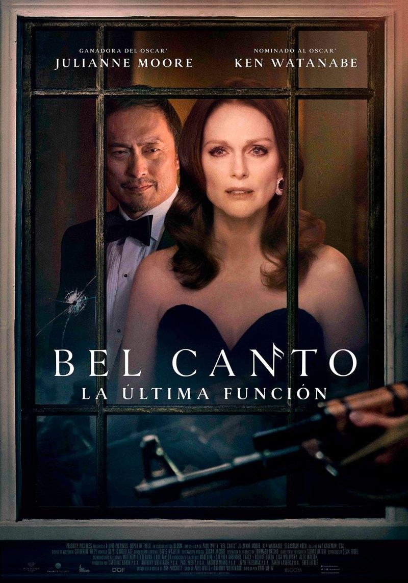 'Bel Canto. La última función': Póster y tráiler español con Julianne Moore y Ken Watanabe