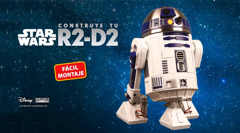 Construye el mítico robot R2-D2 de la saga 'Star Wars' a escala 1:2