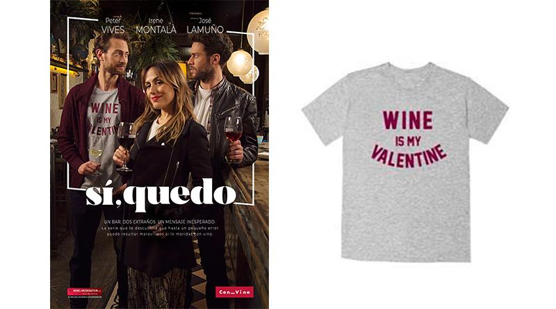 Sorteo 'Sí, quedo': Tenemos camisetas gracias a la Organización Interprofesional del Vino de España (OIVE)