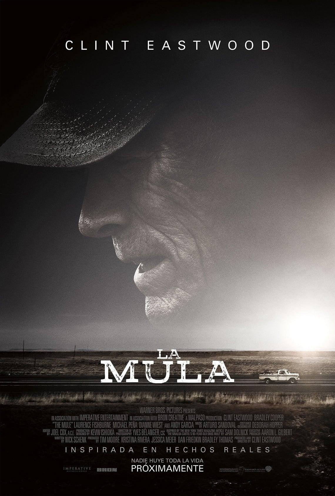 """Pósters de la película """"Mula"""""""