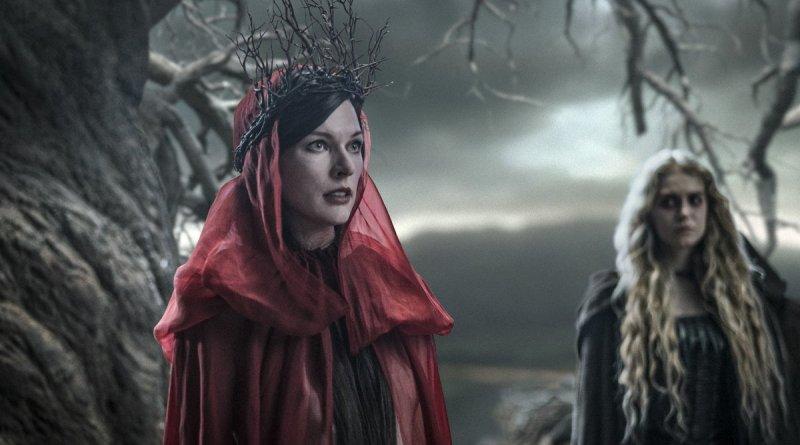 'Helboy': Póster en movimiento de Milla Jovovich como Nimue