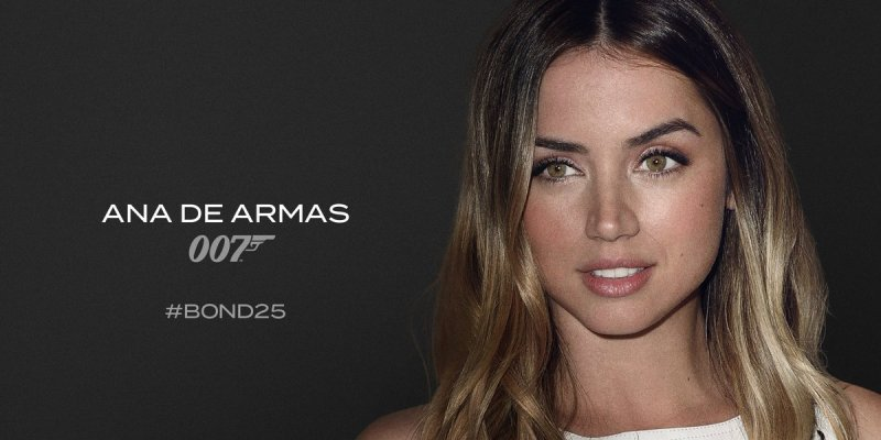 'BOND 25': Empieza el rodaje de la 25ª aventura de James Bond (Ana de Armas)
