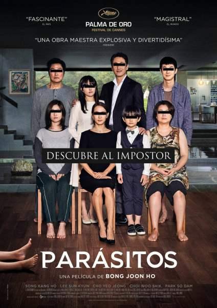 """Pósters de la película """"Parásitos"""""""