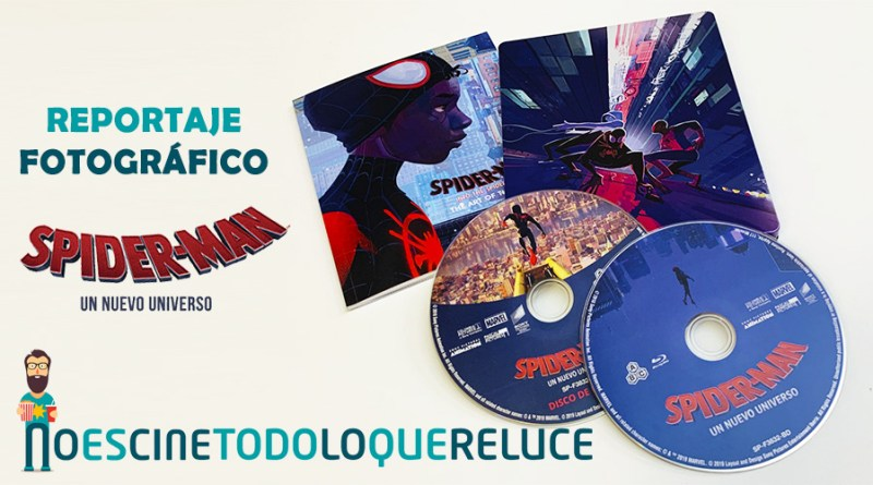 Spider-Man Un nuevo universo (Steelbook Bluray)
