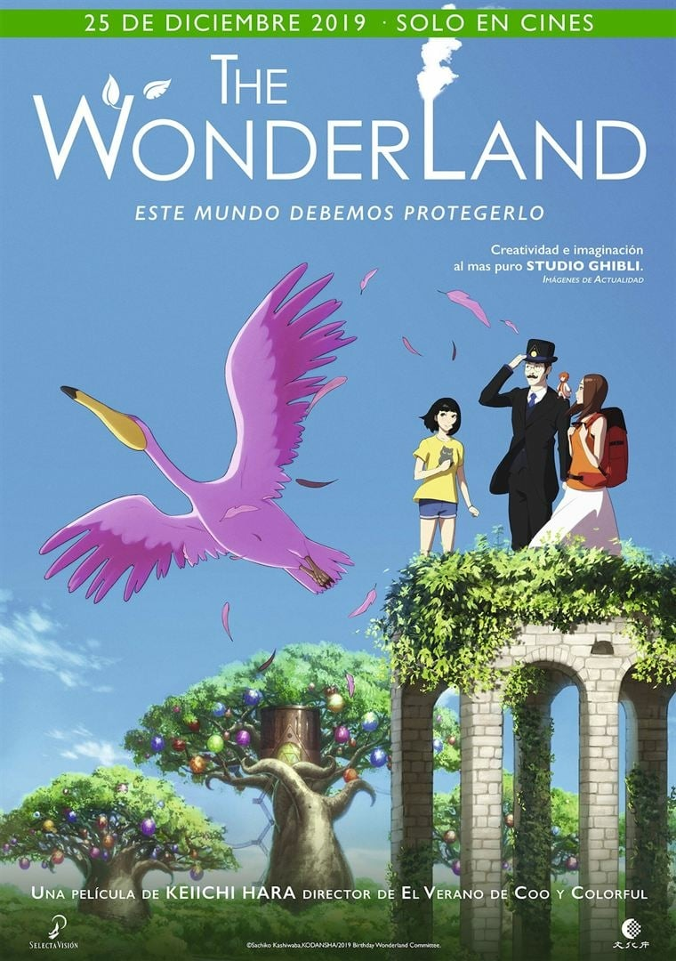 "Pósters de la película ""The Wonderland"""