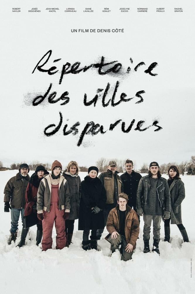 "Pósters de la película ""Répertoire des villes disparues"""