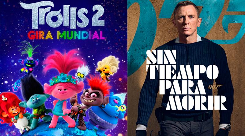 'Trolls 2 - Gira Mundial' y 'Sin tiempo para morir' se estrenarán en otoño en España