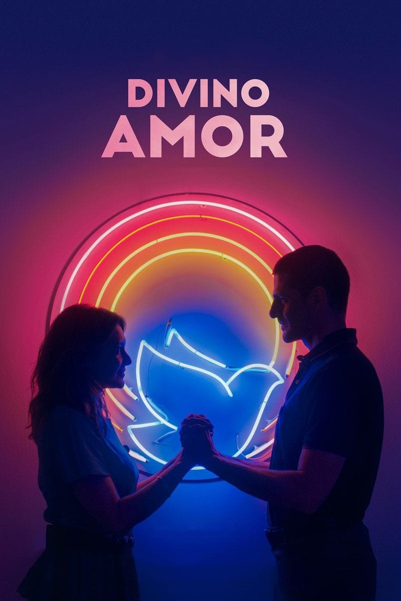 """Pósters de la película """"Divino Amor"""""""